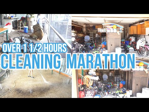 2021 SPRING CLEAN WITH ME MARATHON / OVER 1 1/2 HOUR OF DECLUTTER & ORGANIZING CLEANING MOTIVATION - Naimah Altidore
