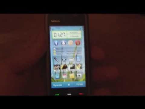 Обзор прошивки для Nokia 5228: C6 Mod V 40.1.003 Prius Sapphire