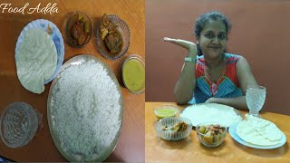 Eating Rice with Potol Chingri, Aar fish Curry, Daal, Papar | Food Show | Food Adda