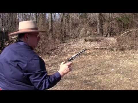 Shooting Colts 1862 Police Revolver.mov