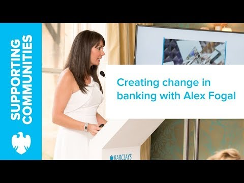Alex Fogal On Women In Banking And Changing Dynamics | Barclays