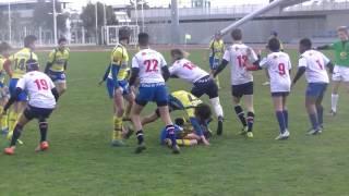 Rugby U14 Finale du Challenge de la Ville de Toulon ASM vs Grenoble Stade Léo Lagrange Live TV 2017