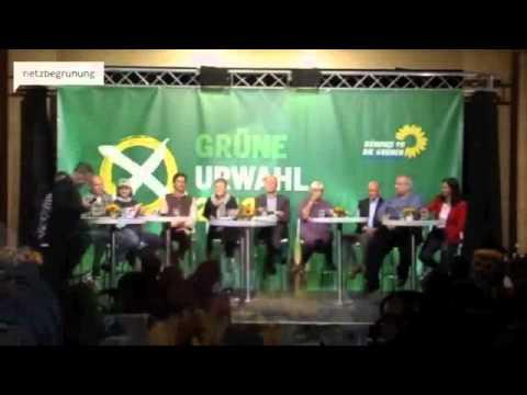 Erstes Urwahl-Forum in Niedersachsen/Hannover