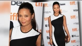 Thandie Newton Is Pregnant With Her Third Child - Splash News   Splash News TV   Splash News TV