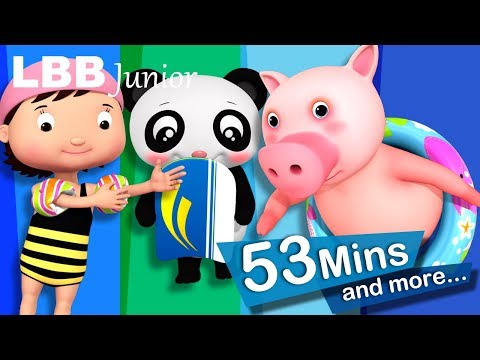 Learning To Swim | And Lots More Original Songs For Kids | From LBB Junior!