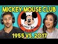 ADULTS REACT TO NEW MICKEY MOUSE CLUB 1955 vs. 2017