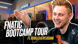 FNATIC BOOTCAMP TOUR ft. REKKLES & HYLISSANG | Worlds 2019