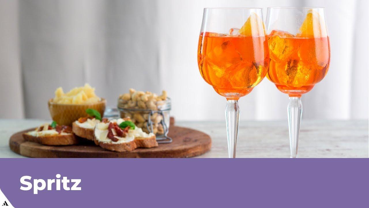 Ricetta Spritz Perfetto.Spritz Ricetta Originale Preparazione Spritz Fatto In Casa Con Aperol Youtube