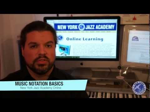 Music Notation Basics Course Welcome (Free class from New York Jazz Academy Online)