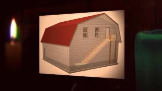 Gambrel Barn And Shed Plans Construction Blueprints [kindle Edition]
