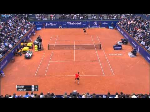 2015 ATP Barcelona Open Semi Final Highlights - feat. Nishikori & Ferrer