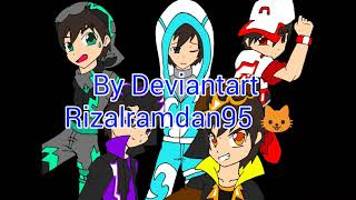 Boboiboy Galaxy: New Outfit & Element Characters
