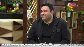 قهوة أشرف - أكرم حسني لـ أشرف عبد الباقي: أحب أشكرك على كل اللي بتقدمه لينا وخصوصاً المسرح