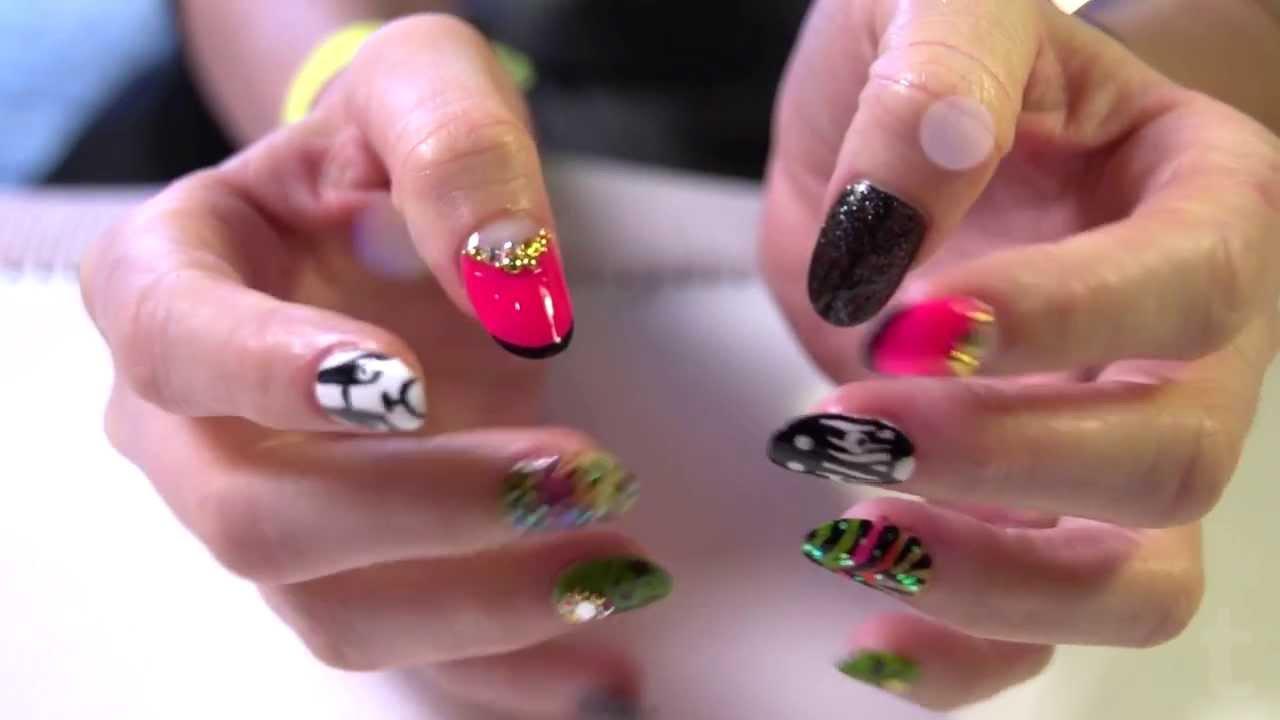 Le 10 Migliori Nail Art Le Più Belle Manicure Con Smalto Per Unghie