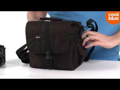 Lowepro Adventura 170 cameratas videoreview (NL/BE)