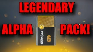 26 Alpha Packs Opening! - Rainbow Six Siege