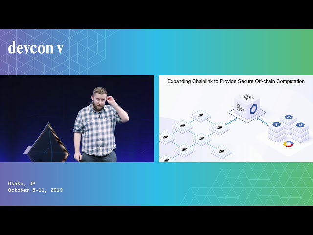 Securely Connecting Smart Contracts to Off-Chain Data and Events by Sergey Nazarov (Devcon5)