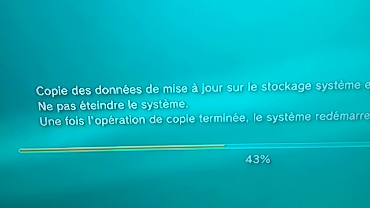 mise a jour playstation 3 4.82