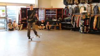World Round Up Team Freestyle Demo at Heritage Boardshop