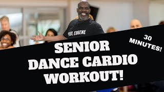 Senior Gold Dance Cardio Fun! Low Impact Exercise That Will Brighten Up Your Day and Keep You Fit!
