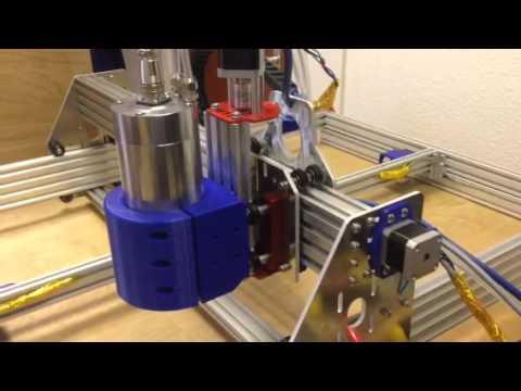 Marlin firmware running CNC mill