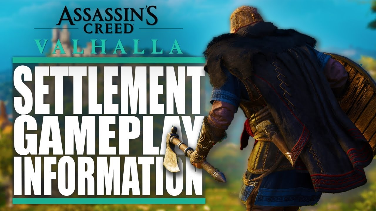 Assassin S Creed Valhalla Settlement Gameplay Information Templars Tattoos Much More Youtube