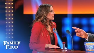 PODIUM PRESSURE! Gary Busey & Jana Kramer face off! | Celebrity Family Feud