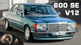 Mercedes W116 V12 600 SE