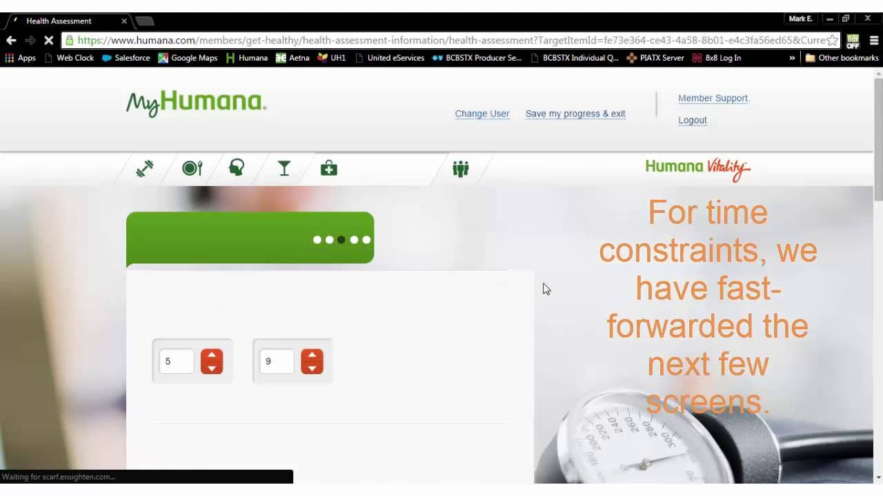 How to complete your Humana Vitality Health Assessment