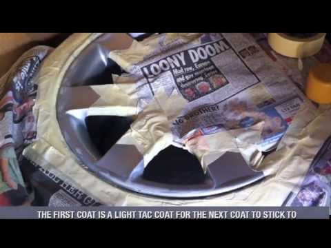 How To Refurbish And Paint Alloy Wheels At Home With Spray Cans Bmw 44s Part 2 You
