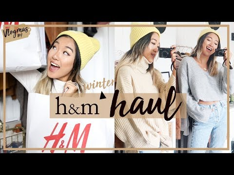H&M WINTER HAUL & TRY ON: What I Got For $280 (8 Items) | #Vlogmas 16