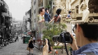 Then & Now Juxtaposed Photography