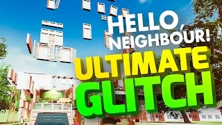 NO WALLS GLITCH & GOLDEN APPLE BUSTING - Hello Neighbor Wall Glitch - Hello Neighbor Alpha 1