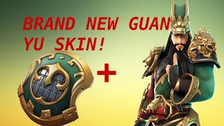 Fortnite battle royale(NEW GUAN YU SKIN!) AND 1V1 WITH VIEWERS!
