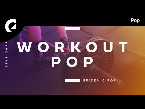 Workout Pop Stream 🎶🔴 24/7 Workout Music for Crossfit, Running, Gym 🎶