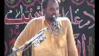 Zakir Ali Raza khokhar majlis 15 Ramzan 2013 at Hakem e wala