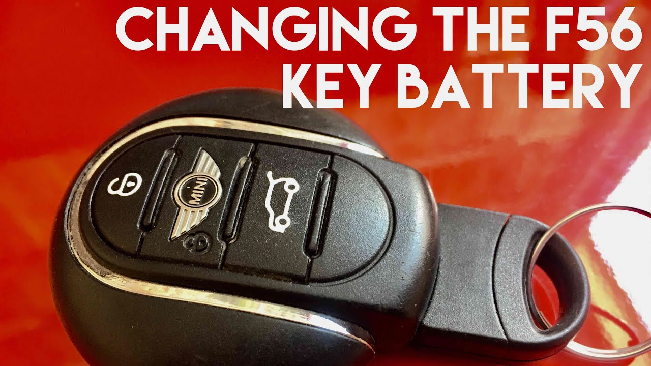 Bmw Mini F56 How To Replace Key Fob Remote Battery Fixing A Broken