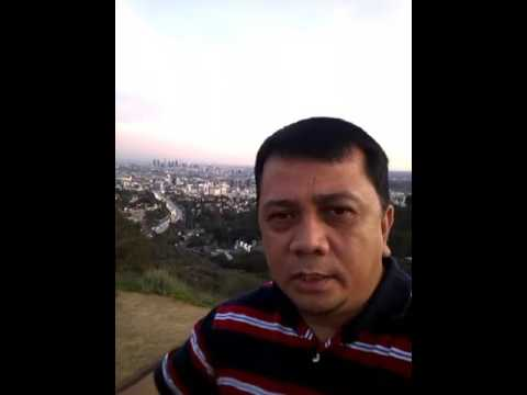 Loy Oropesa Broadcaster@large Hollywood Highlands (Overlooking) L.A
