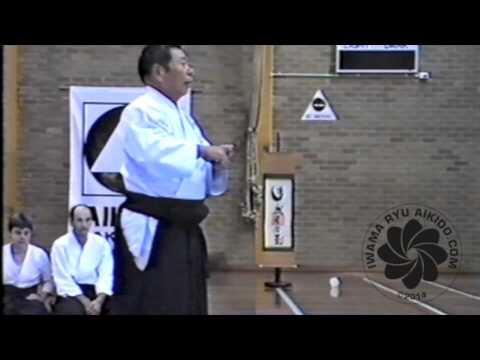 Saito Sensei Explains Iwama Ryu Aikido 1986 & 1995