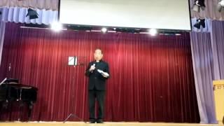 2016-10-23 李炳光牧師於基督教中國佈道會九龍迦南堂崇拜證道 - 當貧與富相遇