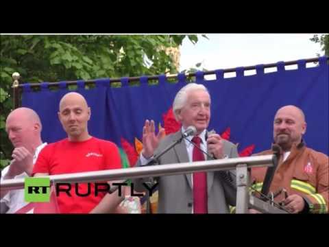 Dennis Skinner 27.06.2016 Corbyn Support Rally.