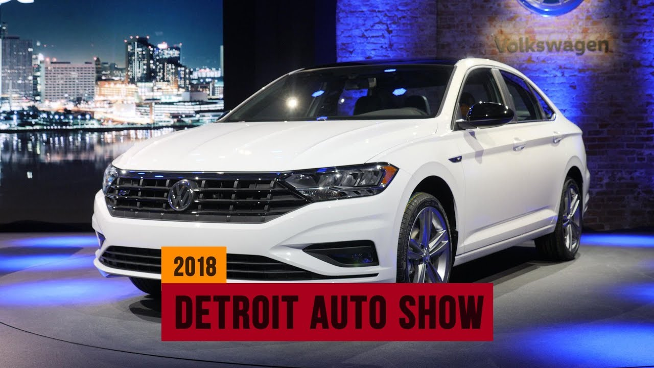 First look at the all-new 2019 VW Jetta | NAIAS 2018 - YouTube