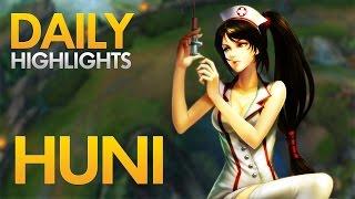 SKT T1 HUNI - Akali Top Lane - Daily Highlights