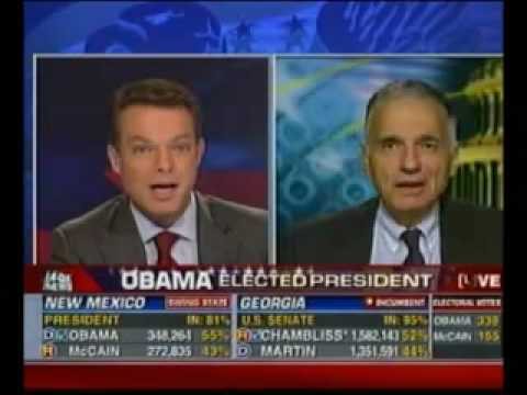 Ralph Nader asks if Barack Obama will be an Uncle Tom