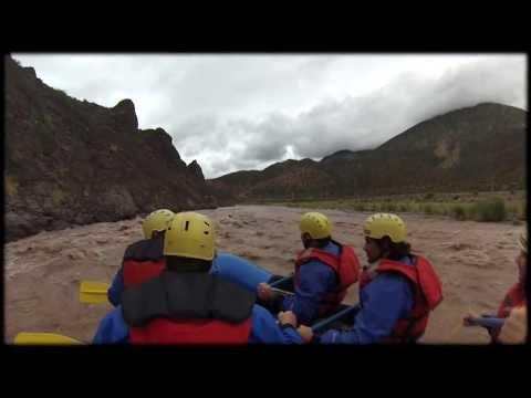 Rafting en Potrerillos