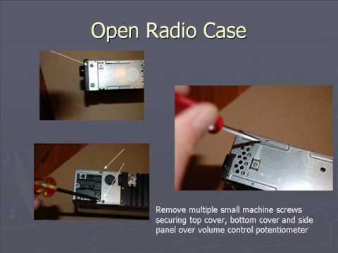 Fixing Radio Volume Control Static Mercedes 190E W201.wmv