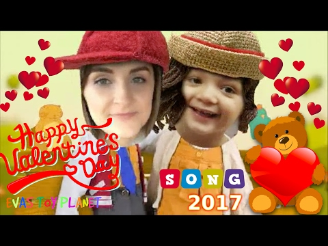 ❤️️ VALENTINE'S DAY 2017 SONG ❤️️ MUM AND KID VALENTINE'S DAY FUN DANCE SING ALONG