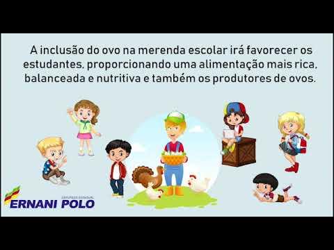 Sancionada Lei que inclui ovo na merenda escolar das escolas estaduais RS