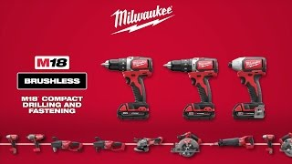 Milwaukee® M18™ Compact Brushless Drill & Impact