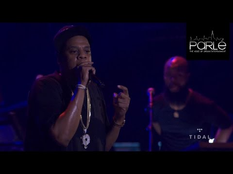 Jay Z Freestyle at the Tidal B-Sides Concert (Youtube, Spotify Diss) - Parlé Magazine